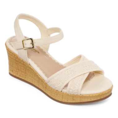 jcpenney.com | Arizona Claire Girls Wedge Sandals - Little Kids