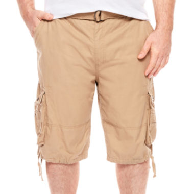 jcpenney.com | D'Amante Enzyme Wash Cargo Shorts - Big & Tall