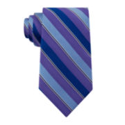 Stafford® Gary Stripe Silk Tie