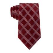 Stafford® Clark Grid Silk Tie