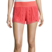 Rewind Crochet Shorts