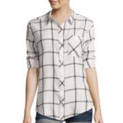 Arizona Boyfriend Plaid Shirt