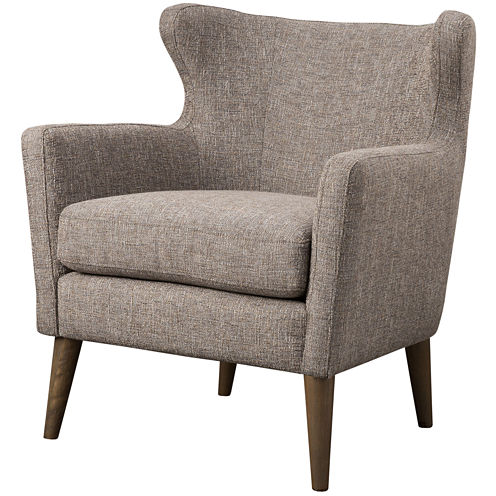 Madison Park Letti Winged-Arm Accent Chair