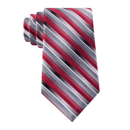 Van Heusen® Pierre Striped Silk Tie