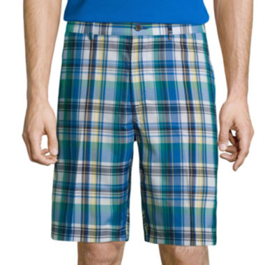jcpenney.com | Jack Nicklaus® Golf Performance Madras Plaid Shorts