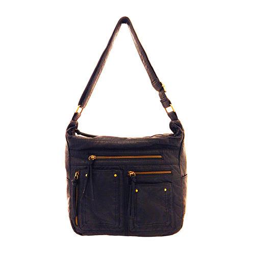 St. John's Bay® Washed Convertible Shoulder Bag