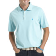 IZOD® Short-Sleeve Solid Interlock Polo