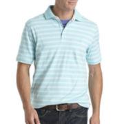 IZOD® Short-Sleeve Striped Interlock Polo
