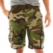 Arizona Belted Ripstop Cargo Shorts
