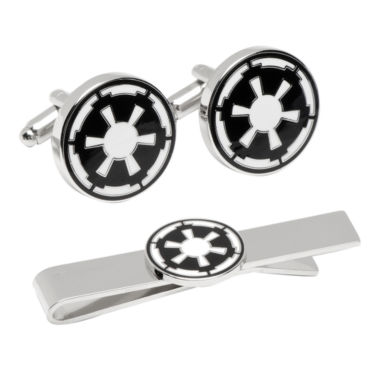 jcpenney.com | Star Wars™ Imperial Empire Tie Bar & Cuff Links Gift Set