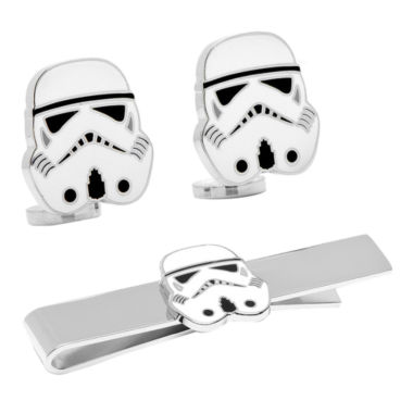 jcpenney.com | Star Wars™ Storm Trooper™ Tie Bar & Cuff Links Gift Set