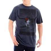 i jeans by Buffalo Graphic Tee-Big & Tall