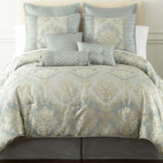 Home Expressions™ Candace 7-pc. Jacquard Comforter Set & Accessories