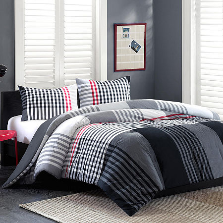 INK+IVY Blake Plaid Comforter Set