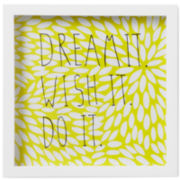 Umbra® Motto Dream It Shadowbox Wall Decor