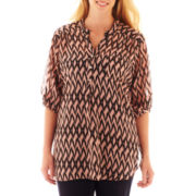 Riley & James Long-Sleeve Tunic - Plus