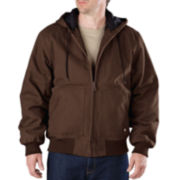 Dickies® Heavy-Duty Sanded Duck Hooded Jacket-Big & Tall