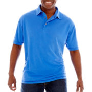 The Foundry Supply Co. Short-Sleeve Slub Polo Shirt-Big & Tall