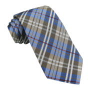 Stafford® Multicolor Plaid Tie