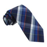 Stafford® Bubble Gum Plaid Tie