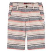 Arizona Print Chino Shorts - Boys 8-20, Slim and Husky