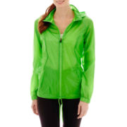 Xersion™ Neon Shadow Woven Water-Resistant Jacket