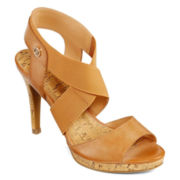 Liz Claiborne® Dapper Heeled Sandals