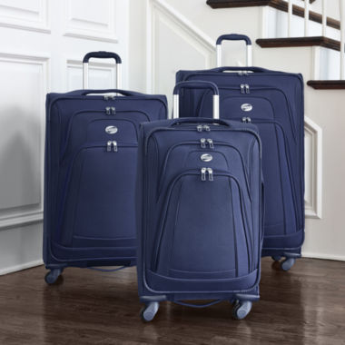 jcpenney.com | American Tourister® ColorSpin Expandable Spinner Luggage Collection
