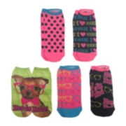 5-pk. Nerds Rule Photoreal Shortie Socks