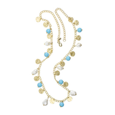 jcpenney.com | KJL by KENNETH JAY LANE Gold-Tone Multi-Drop Necklace