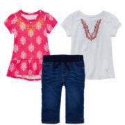 Arizona Peasant Top, Peplum Top or Capri Jeggings – Preschool Girls 4-6x