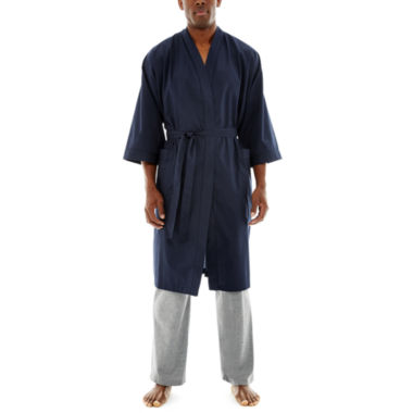 jcpenney.com | Stafford® Long-Sleeve Kimono Robe - Big & Tall
