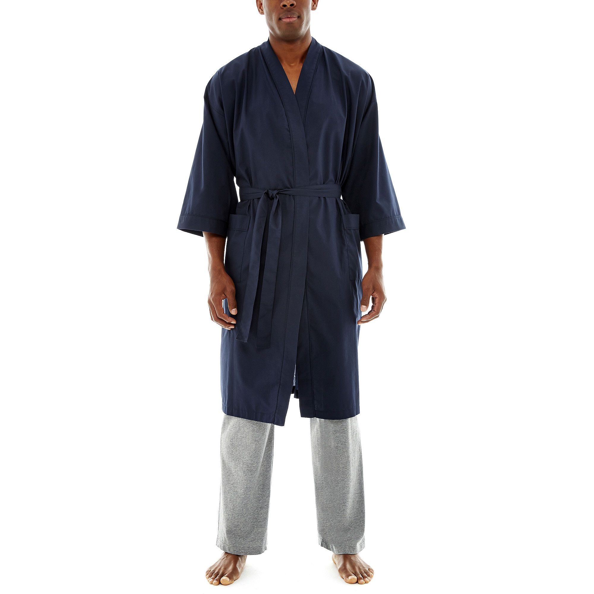 Stafford Kimono Robe - Big & Tall plus size,  plus size fashion plus size appare