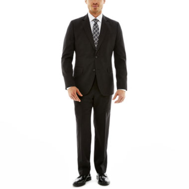 jcpenney.com | Stafford® Travel Charcoal Gabardine Suit Separates—Slim Fit