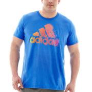 adidas® Digi Fade Logo Tee–Big & Tall