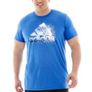 adidas® Iceberg Adilogo Tee–Big & Tall