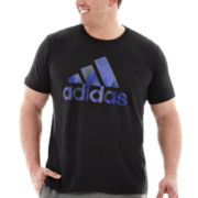adidas® Adilogo Shock Energy Tee–Big & Tall