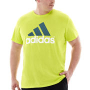 adidas® Adilogo Tee–Big & Tall