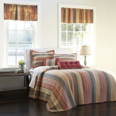 jcpenney.com | Retro Chic Cotton Striped Bedspread