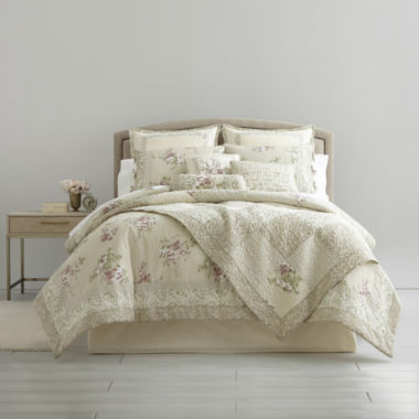 jcpenney.com | Home Expressions™ Evelyn 4-pc. Comforter Set + BONUS Quilt