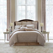 Royal Velvet® Battista 4-pc. Jacquard Comforter Set & Accessories