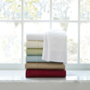 American Heritage 500tc Egyptian Cotton Sateen Solid Sheet Set