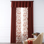 JCPenney Home™ Monroe Tweed/Bedford Rod-Pocket/Back-Tab Window Treatments