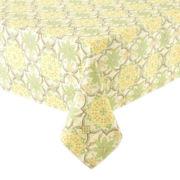 Porto Trellis Stain-Resistant Tablecloth