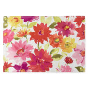 Veranda Floral Stain-Resistant Set of 4 Placemats
