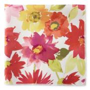 Veranda Floral Stain-Resistant Set of 4 Napkins