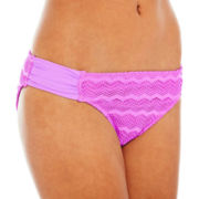 Arizona Crochet Hipster Swim Bottoms - Juniors