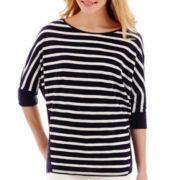 Stylus™ 3/4-Sleeve Knit Top