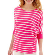 Stylus™ Dolman-Sleeve Knit Top