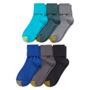 Gold Toe® 6-pk Turn-Cuff Socks